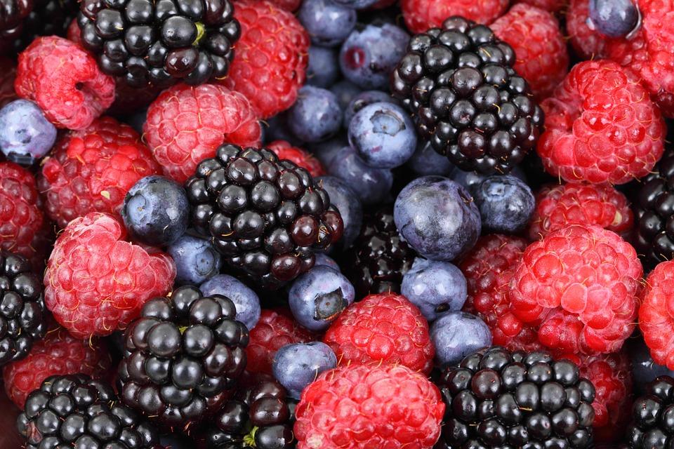 Forskellige bær