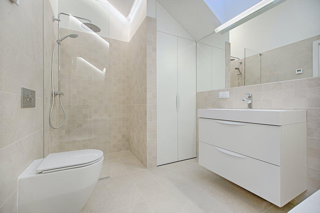 Et rent badeværelse