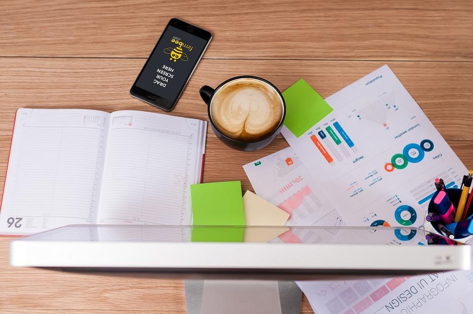 digital markedsføring, computer, notater