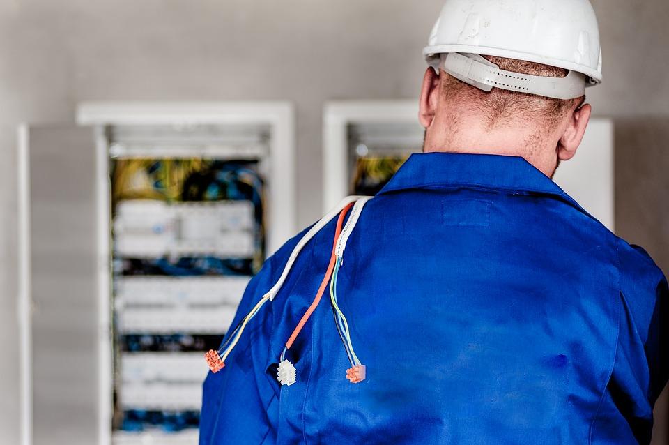 elektriker, ledninger, eltavle