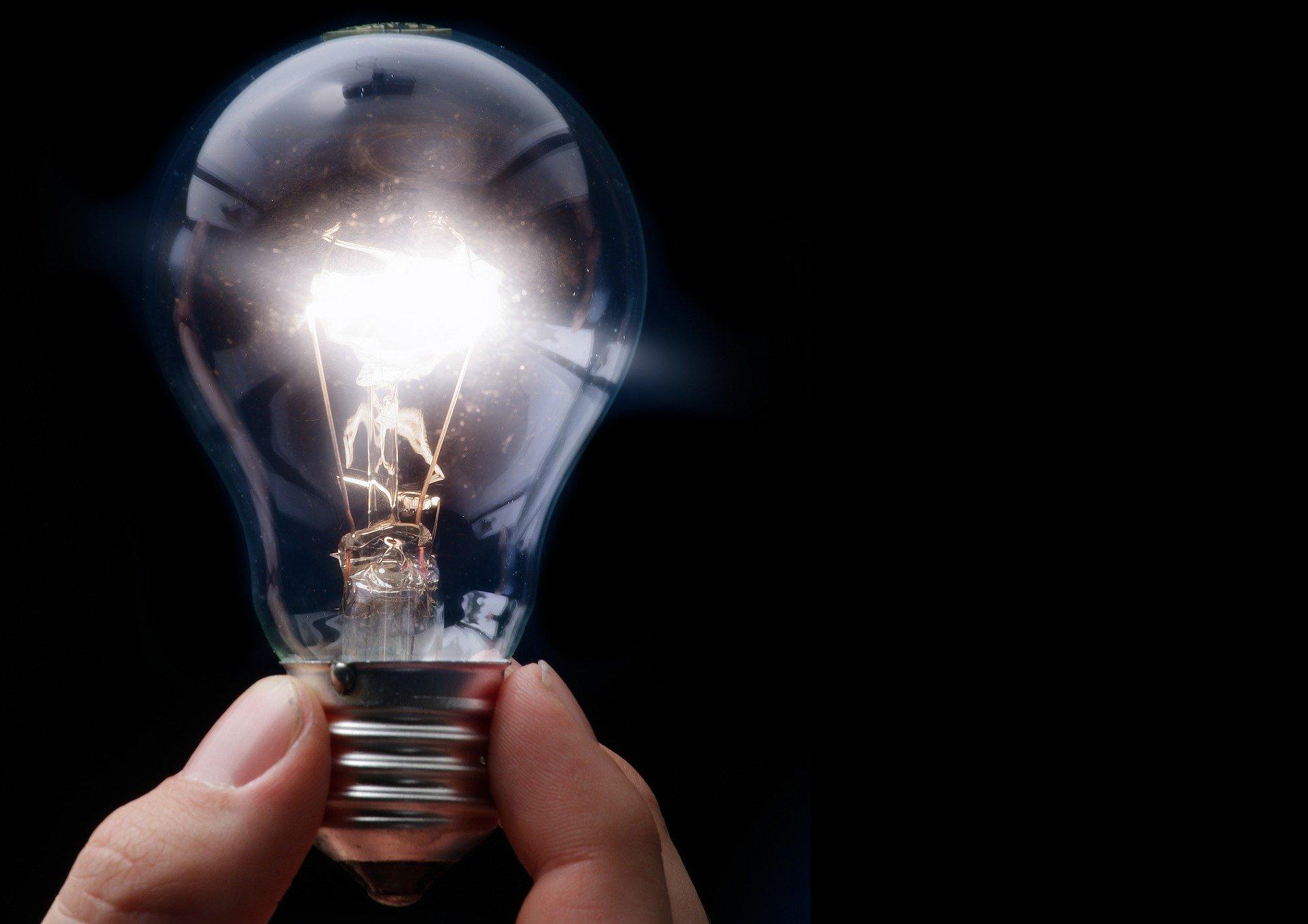 pære, strøm, elektricitet